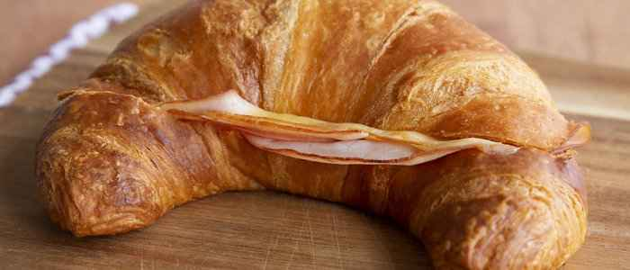Try our new flaky, delicious golden croissant.